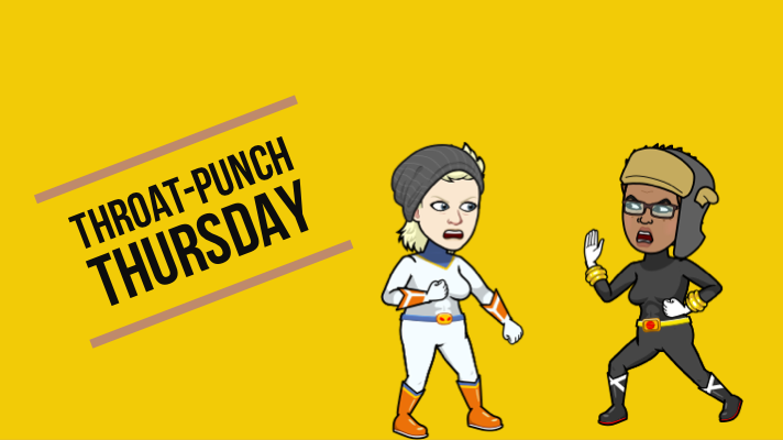 throat-punch thursday with lil Hillary and lil AJ